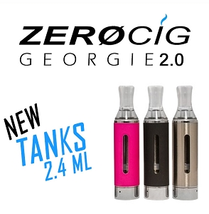 GEORGIE 2.0 Replacement Tanks 2.4 ml