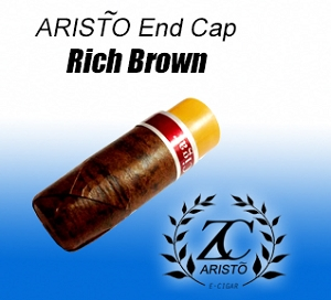 ZC ARISTO End Cap - Rich Brown