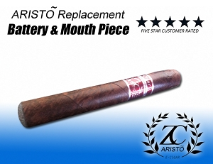 ARISTO E Cigar Replacement Battery & Mouth Piece