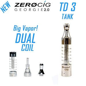 Dual Coil TD 3 Tank - For GEORGIE 2.0