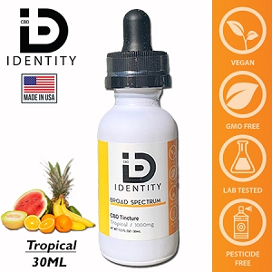 ID CBD 1000mg - Tropical 30ml